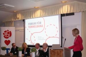 Forum för tunnelbana - vad blir nästa steg i tunnelbaneutbyggnaden?